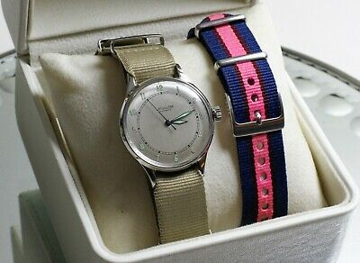 """1940's LeCoultre Military """"Bumper Wind"""" Automatic 476 17 Jewel Watch SERVICED!!!"""