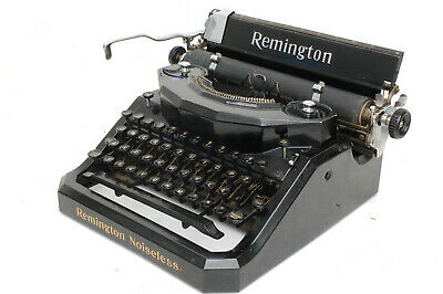 ++  Excellent Remington Noiseless Typewriter ++ Very Clean & Working Order