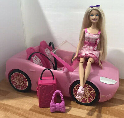Barbie Car Bundle 💕 With Dressed Doll & Accessories