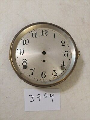 Antique Seth Thomas Cathedral Arch Mantle Clock Dial & Bezel No Glass York #1