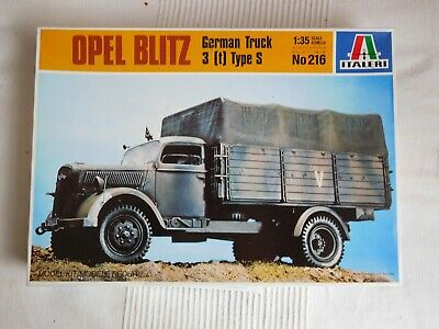 Deutsch. LKW Opel Blitz 3to, Type S, Italeri 216, in 1:35