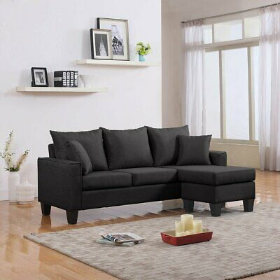 Miraculous Gray Sectional Sofa With Ottoman Local Pickup In Columbia Machost Co Dining Chair Design Ideas Machostcouk