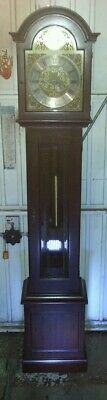 Antique style longcase clock westminster chimes. FHS.