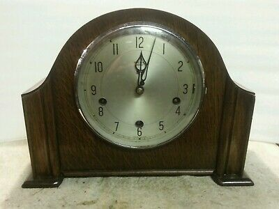Antique smiths westminster clock spares or repair but working.