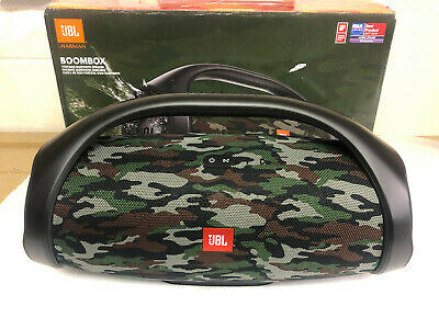 Jbl Boombox Squad 60W Portable Bluetooth Wireless Speaker Camo Rechargeable New