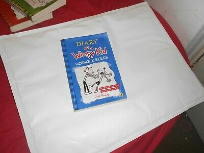 Diary of a  wimpy kid Rodrick rules by Jeff Kinney PAPERBACK
