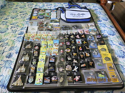 Disney Lot Of 100+ Disney Trading Pins Limited Edition Retired Rare Cast Mickey