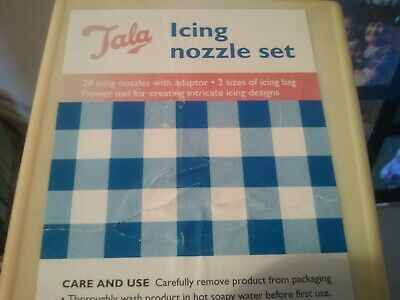 'Tala' 30 Piece Nozzle Set for Icing []NEVER BEEN USED]