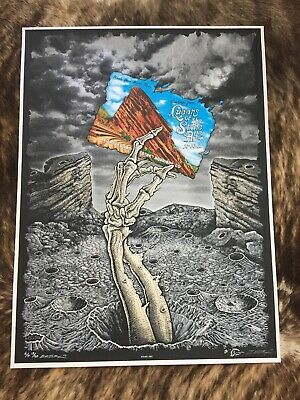 Queens Of The Stone Age Red Rocks Poster Low Edition Emek