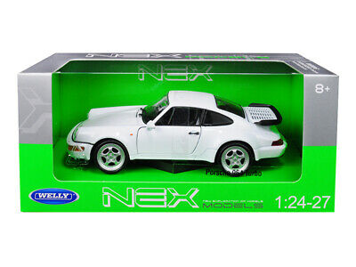 997 PORSCHE 911 gt3 RS in Bianco Welly scala 1:18 OVP NUOVO