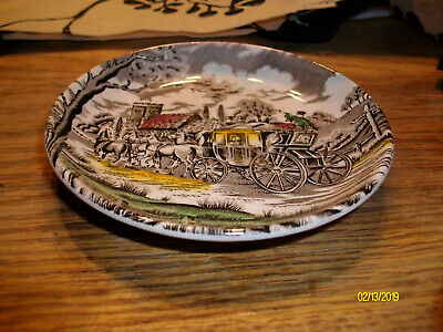 Royal Mail Fine Staffordshire ironstone 4 1/4 inch dish