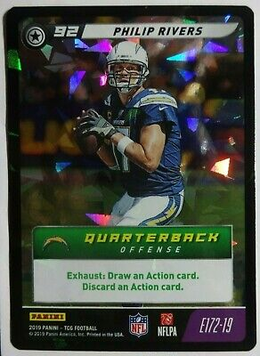 2019 Panini NFL Five Philip Rivers #E172-19 Epic Foil SSP LOS ANGELES CHARGERS