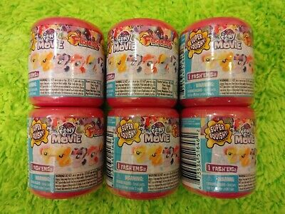 6 X My Little Pony Series 7 Fash'ems Blind Capsules Mystery Official