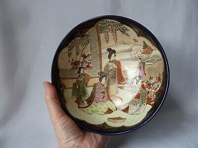 Antique Japanese Satsuma Bowl, Diameter 18cm