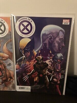 Powers Of X 4-6 ISSUE 4 Regular Issue 5 Connecting Cover ,issue 6 Decades
