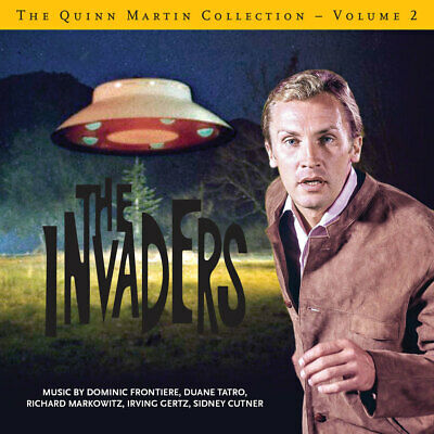 QUINN MARTIN COLLECTION VOL 2 2-CD THE INVADERS La-La Land Score Soundtrack NEW