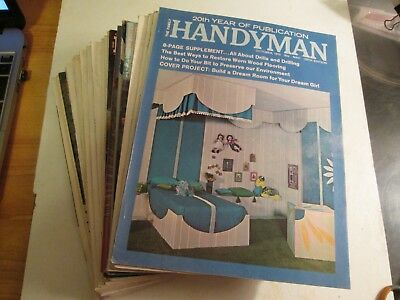 Vintage Workbench & Handyman Magazines (37 issues)