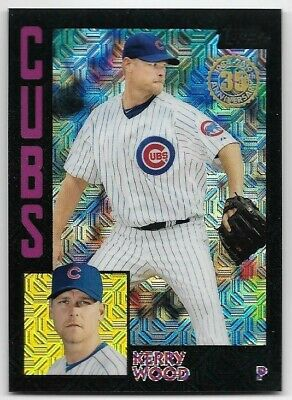 2019 Topps Update Silver Pack 84 Black Kerry Wood 75/199 Chicago Cubs