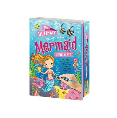 Paint Your Own Mermaid & Book LAK206446