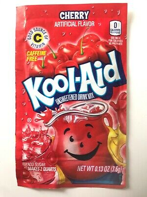 Kool-Aid Drink Mix - CHERRY x3 Sachets - Imported from USA