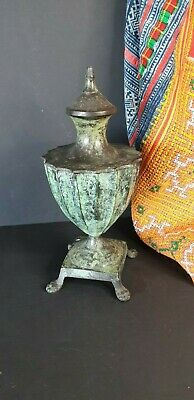 Old English Bronze / Lidded Container …beautiful collection & display piece