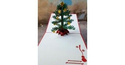 Decorated Christmas Tree High Quality Popup Card **Best price in Australia**