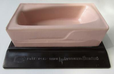1950s Contour Bath American Standard Cast Iron Pink Enamel Salesman's Tub Sample