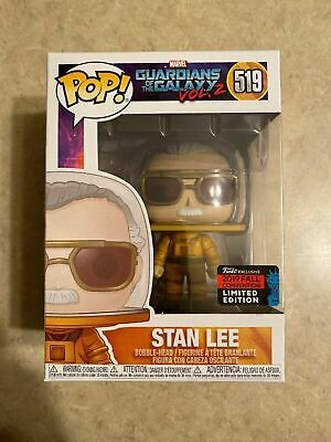 Funko Pop Stan Lee Marvel Guardians Of The Galaxy 2 NYCC 2019 Shared Exclusive