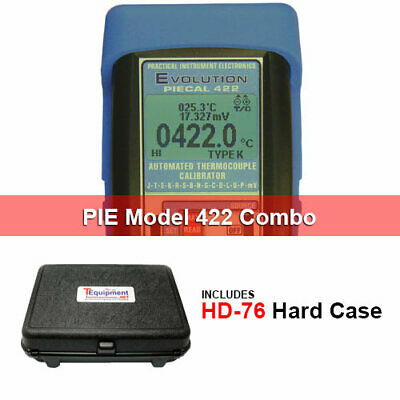 PIE PIE422-HD Automated Thermocouple Calibrator - 14 T/C Types