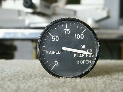 Gauge Aircraft Flap Indicator