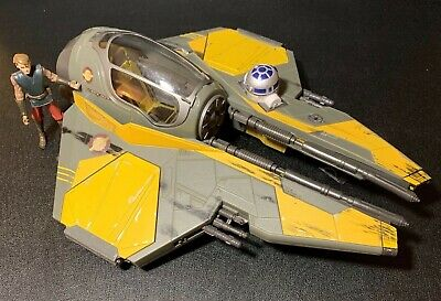 Vintage Star Wars Revenge of the Sith Anakin's Jedi Star Fighter Space Ship R2D2