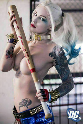 Suicide Squad Harley Quinn Movie Art Silk Poster 8x12inch