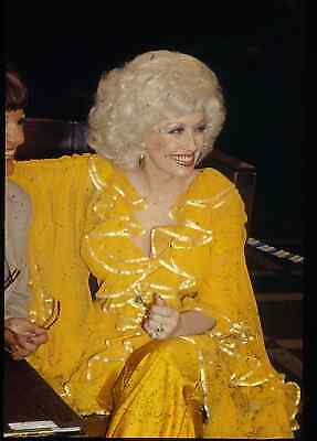Dolly Parton 4 35Mm Color Transparency Slides Of Country Music Legend