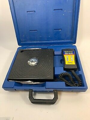 Electronic Yellow Jacket Refrigerant Charging Scale 68802 - 1-110 Lbs