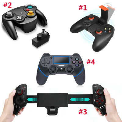 Wireless Bluetooth Game Controller Gamepad Joystick For PC PUBG / PS4 / Nintendo