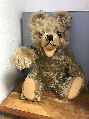 Antiguo Teddy Oso 37 Cm. Buen Estado