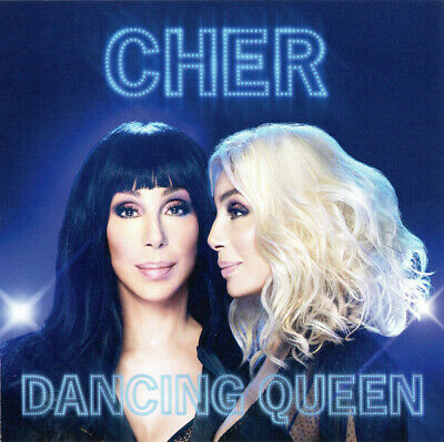 Cher Dancing Queen limited edition BLUE vinyl LP ABBA NEW/SEALED