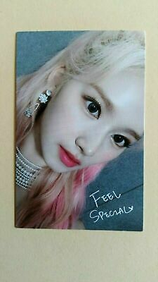TWICE - 8th mini album FEEL SPECIAL Official Photocard Photo Card - Sana