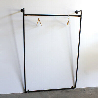 Industrial Lean Pipe Garment Rack Closet Commercial Clothes Hanger Bracket LR014