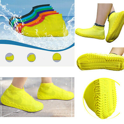 Rain Waterproof Shoe Covers Silicone Overshoes Boot Cover Protector Recyclable