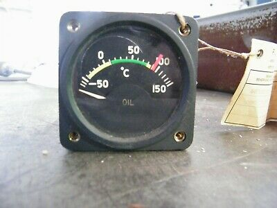 Gauge Aircraft Thermometer