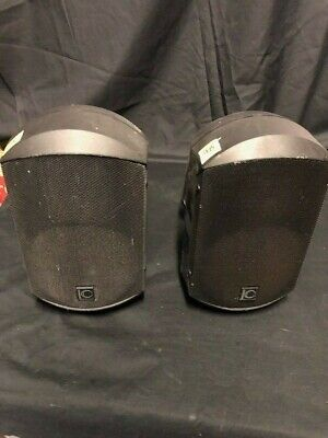Speakers x 2 Used Turbosound Impact 50 with Wall mount brkts