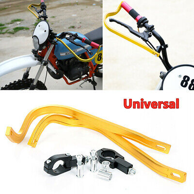 Motorcycle Scooter 28MM Handlebar CNC Brake Clutch Anti- fall Bow Guard Levers