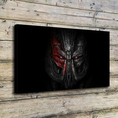 "12""x22""Transformers HD Canvas Prints painting Home Decor Picture Wall Art Poster"