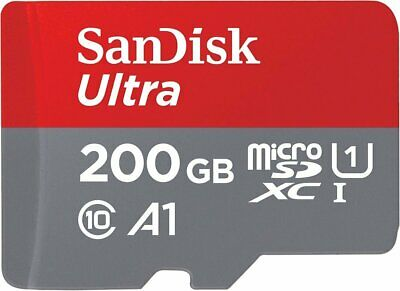 SanDisk 200Go 200Go Ultra 667x 100MB/s Class 10 UHS-I Micro SD SDXC Memory Card