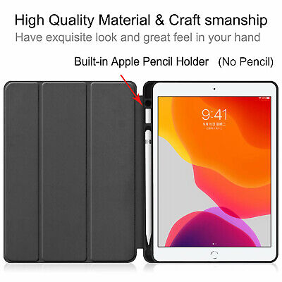 """For Apple iPad 10.2 inch 7th&Air 3 2019 Pro 10.5"""" Smart Leather Stand Case Cover"""