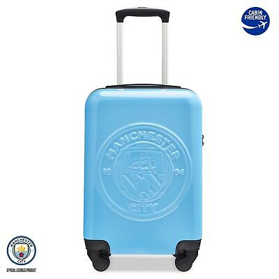 Officially Licensed Manchester City Football Club Cabin Suitcase Travel Case