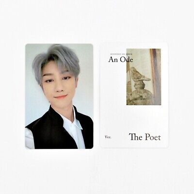 [SEVENTEEN] An Ode 독 : Fear Official Photocard / The Poet Ver. B-2.THE 8