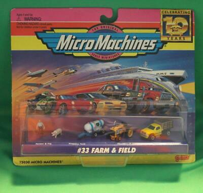 Galoob Micro Machines #33 Farm & Field New Nrfp