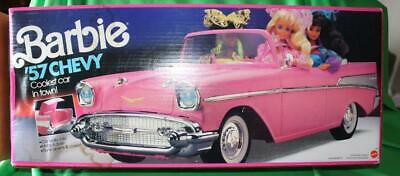 Mattel 1990 Barbie '57 1957 Pink Chevy New Mint In Box Never Removed